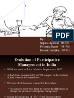 worker's participation in managemnet
