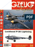 (Flugzeug Profile No.32) Lockheed P-38 Lightning