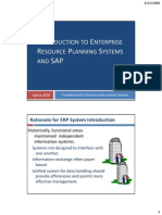 03--Introduction to Enterprise Resource Planning Systems and SAP