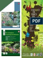 Brochure Parcs Jardins Alsace