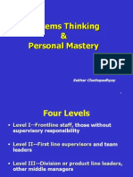 Systems Thinking and Personal Mastery