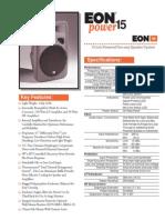 Jbl Eon Power 15