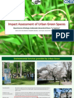 Impact Assessment of Urban Green Spaces