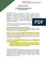 Coraminas_estudios de La Recepción