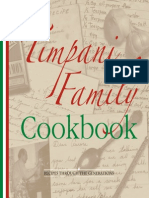 Timpani Family Cookbook