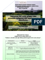 Valutazione Del Verde Urbano Come Potenziale Mitigatore dell'inquinamento atmosferico