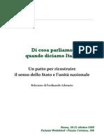 Adornato - 150 anni dell'Unità d'Italia