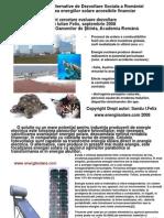Felix Sandu Energiisolare.com Energii alternative pentru dezvoltarea Romaniei prin eficientizarea solutiilor tehnice, Energiisolare2014 Felix Sandu