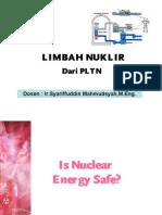 Limbah Dan Radiasi Nuklir 2