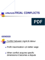 HRS Industrial conflicts