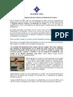 Informe de intervenciones de panelistas en la Presentación del Segundo Informe de Rendición de Cuentas de OSC dominicanas. Escrito por Rosanna Morillo.