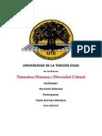 Naturaleza Humana y Diversidad Cultural
