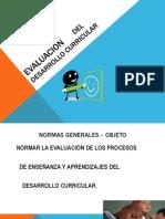 EVALUACIÓN DEL DESARROLLO CURRICULAR 2014.pptx