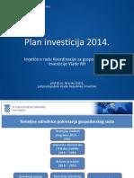 Plan Investicija za 2014.