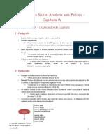 Explicação CAP IV
