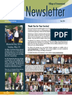 Streamwood Village Newsletter, May 2014