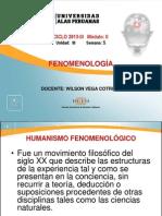 5. FENOMENOLOGÍA