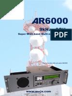 AOR AR6000 Brochure REV2