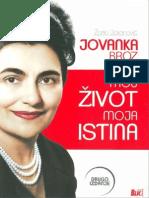 Jovanka Broz-Moj Zivot Moja Istina-Zarko Jokanovic