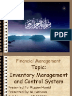 Inventory Managment and Control System by M.Hashaam.pptx