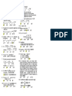 San Jose 4º Algebra - Habilidad Operativa