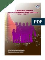 Data Penduduk Sasaran Program