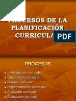 ..1. Procesos Curriculares