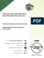 Manual de Capacitación de Oficiales de Aduana