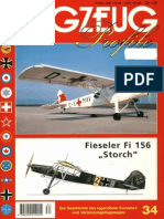 (Flugzeug Profile No.34) Fieseler Fi 156 ''Storch''