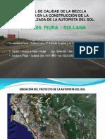 Construcción de Autopista Piura - Sullana