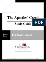 The Apostles' Creed - Lesson 4 - Study Guide