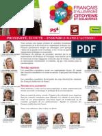 Profession de Foi Francais d'Allemagne - Citoyens et Solidaires