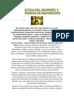 La Practica Del Ngondro y Enseñanzas de Mahamudra