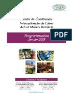 Programmation Janvier 2013 - CCIC ENSAM
