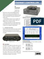AOR ARL2300 Brochure