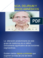 Demencia Delirium y t Amnesicos