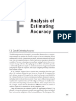 Analysis of Estimating Accuracy_Clough, S y S