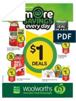 Current Woolworths Australia catalogue