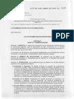Ley n 516-14 Pl 69-14 Ley de Inversiones