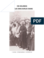 Kyabje Zong Dorje Chang