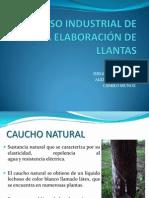 Procesos Industrial de La Elaboración de Llantas