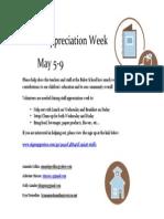 Buker Staff Appreciation Week 2014