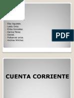 Presentacion -- Cuenta Corriente - Guia 6