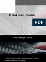 Product Design Checklist