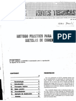 Icpc Diseño de Mezclas de Concreto