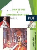 Evangelii Gaudion Sesion 2