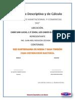 Memoria de Calculo Conjunto Habitacional y Comercial Dis.
