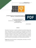 ¿Sociología del derecho o teoría de la justicia? El debate «Luhmann-Rawls- Habermas» y el método de la Rechtsphilosophie