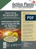 Revista 634 Cierre Del Ejercicio 2011- Invitaciones Del SAT Pago ISR