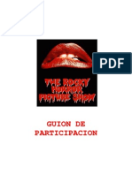 The Rocky Horror Picture Show spanish audience participation script - www.rhps.es